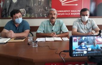 """CHP Keşan: """"Başkan Helvacıoğlu, Keşan'ı yönetemiyor"""""""