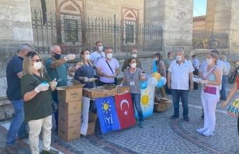 İYİ Partililer'den Muharrem Ayı etkinliği