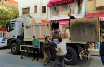 CHP Keşan'dan İzmir'e sevgi seli