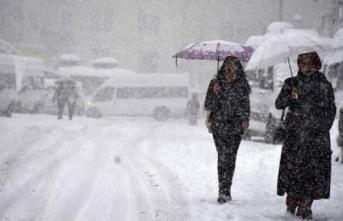 4 Gün boyunca kar yağışı bekleniyor