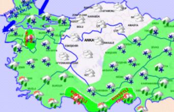 Trakya ve İstanbul'a kar yağacak mı ?