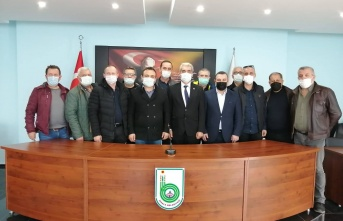Başkan Ünsal'a ziyaretler hız kesmiyor