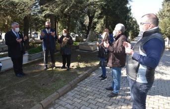Keşan eski belediye başkanı Önen, mezarı başında anıldı
