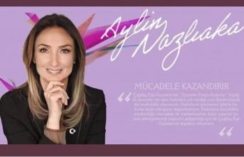 """Aylin Nazlıaka, """"Siyasette güçlü kadınlar ve YaşamHak"""""""