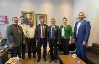 İYİ Parti Edirne İl Başkanlığı'ndan Ankara çıkarması
