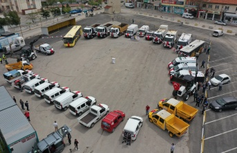 Keşan'a, 9 Milyon TL değerinde 41 yeni araç