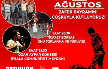 30 Ağustos Zafer Bayramı, İpsala'da kutlanacak