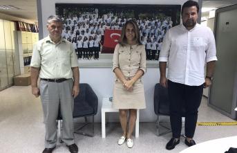 Erdoğan Demir'den TYF Başkanı Özlem Akdurak'a ziyaret
