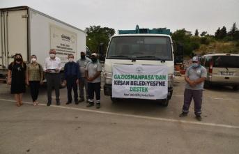 Gaziosmanpaşa'dan Keşan Belediyesi'ne destek