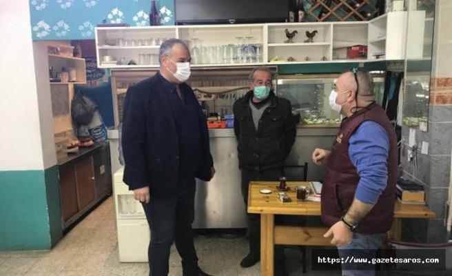 Başkan Günenç, esnaf ziyaretinde