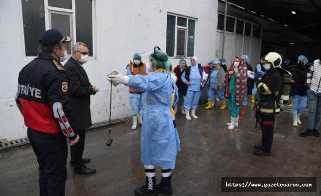 Fabrikada patlama oldu, işçiler hastaneye sevk edildi