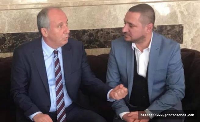 """Uzunköprü CHP'de ilk """"İnce"""" istifa"""