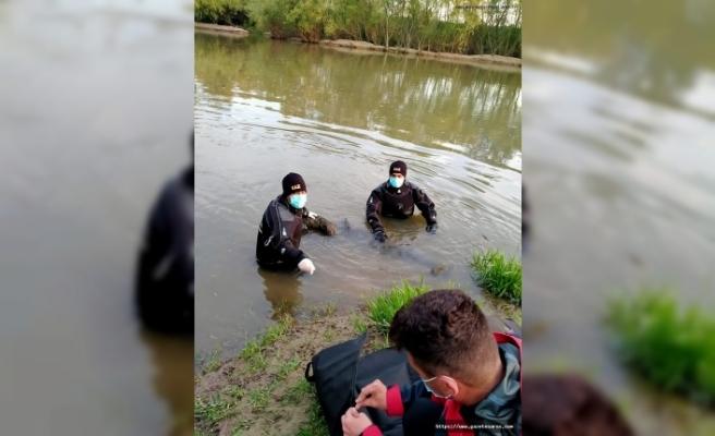 80 yaşındaki kayıp, nehirde ölü bulundu