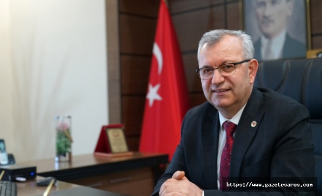 Mustafa Helvacıoğlu'ndan sağlık çalışanlarına teşekkür