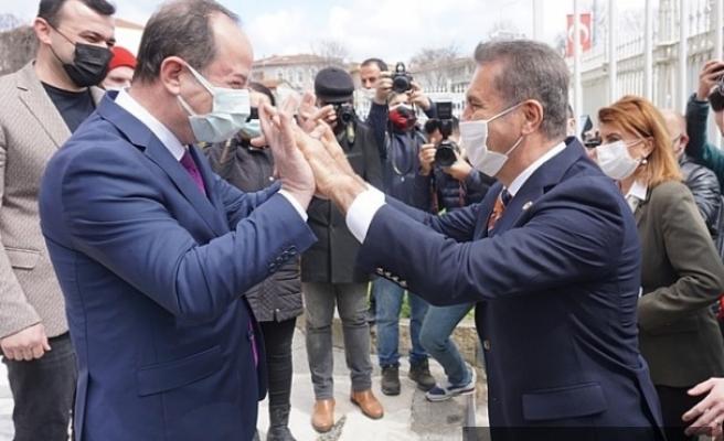 Mustafa Sarıgül'den Recep Gürkan'a ziyaret