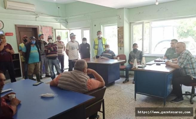 İpsala Belediyesi'nde 84 işçiyi ilgilendiren imza atıldı