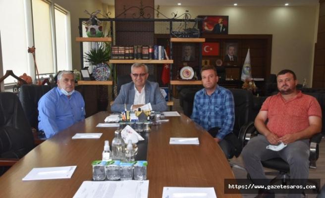 Paşayiğit'ten Helvacıoğlu'na teşekkür ziyareti