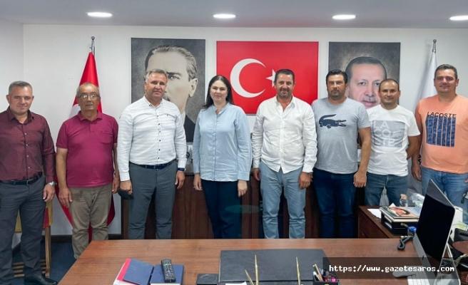 Turan Girgin ve çeltik üreticilerinden AK Parti çıkarması