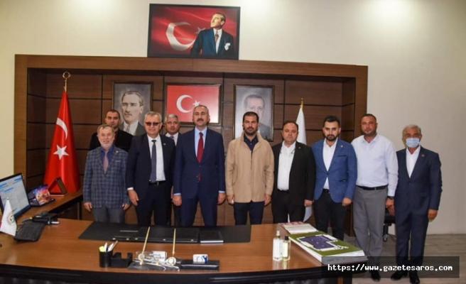 Adalet Bakanı Gül, Keşan Belediyesi'ni ziyaret etti