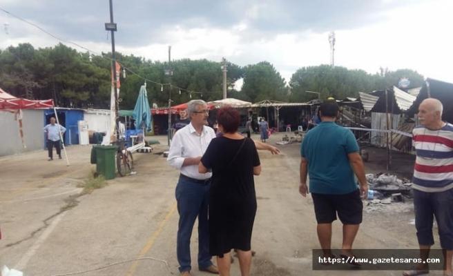 CHP Keşan'dan Erikli esnafına ziyaret