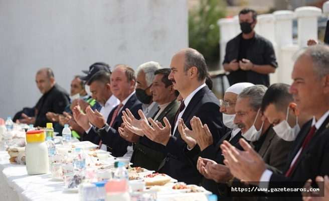 Enez'de husumet, barış yemeğiyle son buldu