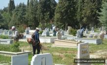 Mezarlıklar, Ramazan Bayramı'na hazırlanıyor