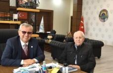 Aktan'dan Helvacıoğlu'na teşekkür ziyareti