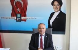"""İYİ Parti Edirne, """"esnafımız kan ağlıyor"""""""