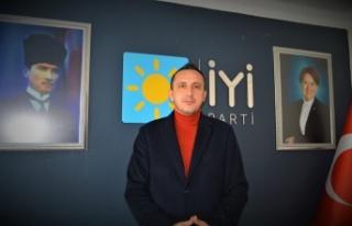 İYİ Parti Keşan İlçe Başkanı Zafer Sarıkeçe...