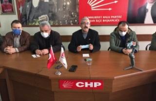 """CHP Keşan; """"21 dönüm yeri sattırmayacağız"""""""