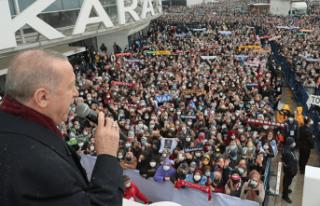 Vatandaş, HES üzerinden AK Parti ve Cumhurbaşkanı...