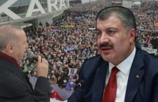 Yurttaşlar tepkili, Sağlık Bakanı tebrik etti