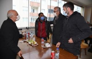 Mustafa Helvacıoğlu, Roman temsilcileriyle buluştu