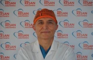 """Op. Dr. Kemal Kef, """"Kanser Haftası"""" hakkında..."""