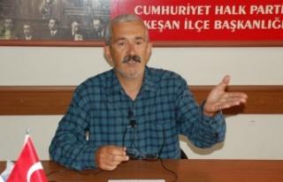 "CHP Keşan, ""esnaflar kapalı, AKP'liler toplu..."