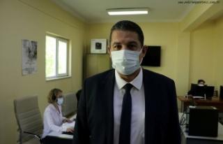 Edirne'de vaka sayısı yüzde 40 azaldı