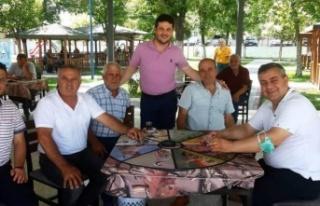 AK Parti İpsala'dan 100 haftada 200 ziyaret