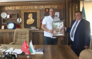 """Enez'e Bulgaristan'dan """"kardeş belediye""""..."""
