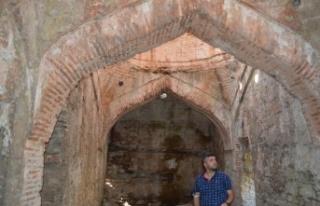 Keşan'da bir kültür mirası; 'Eski Hamam'