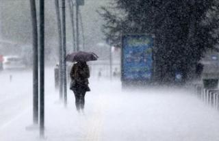 Meteoroloji'den sel ve dolu uyarısı