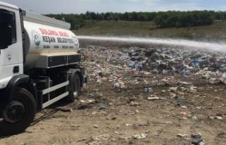 40 Yıllık çöp alanı rehabilite ediliyor