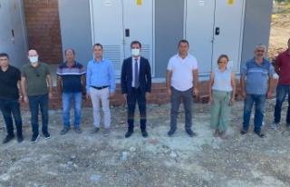 Başkan Gergin, Kocaali'deki su tesisine ziyarette...