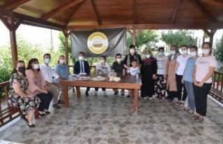Keşan'dan Kayseri'ye hasır sepet