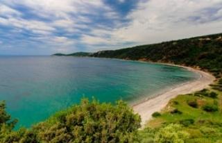 Saros Körfezi'nde denize giren çocuklarda toplu...