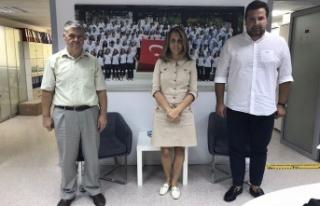 Erdoğan Demir'den TYF Başkanı Özlem Akdurak'a...