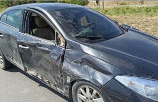 İpsala-Keşan yolunda trafik kazası
