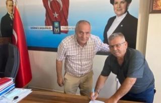 Tecrübeli Başkan Zafer Doğan, İYİ Parti'ye...