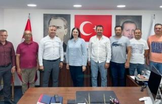 Turan Girgin ve çeltik üreticilerinden AK Parti...