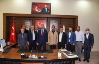 Adalet Bakanı Gül, Keşan Belediyesi'ni ziyaret...