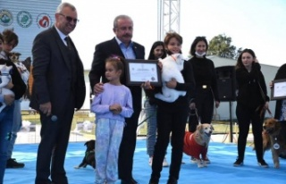 """Mustafa Şentop: """"Bu güzel barınak için teşekkür..."""